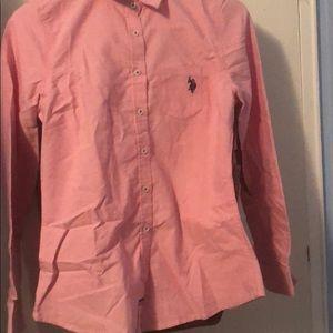 NWT Long sleeve button down shirt
